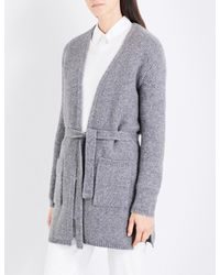 Max Mara - Black Stop Knitted Cardigan - Lyst