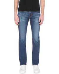 AG Jeans - Blue Matchbox Slim-fit Straight-leg Jeans for Men - Lyst