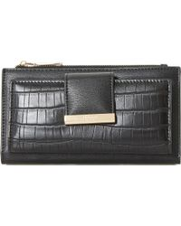 Dune - Multicolor Kira Faux-croc Embossed Purse - Lyst