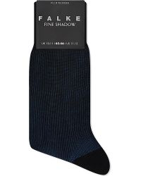 Falke | Blue Fine Shadow Cotton-blend Socks for Men | Lyst