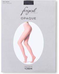 Fogal | Gray Opaque Tights | Lyst