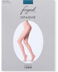 Fogal | Green Opaque Tights | Lyst