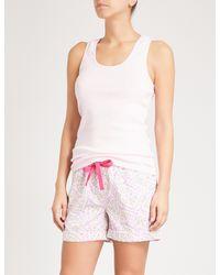 PETER ALEXANDER - Multicolor Fairy Bread Cotton Pyjama Shorts - Lyst