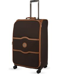 Delsey | Brown Chatelet Soft + Medium Spinner Suitcase for Men | Lyst