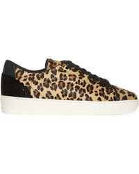 Claudie Pierlot - Metallic Adele Ter Haircalf Lace Up Trainers - Lyst