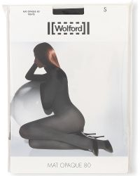 Wolford | Black Matt Opaque 80 Tights | Lyst