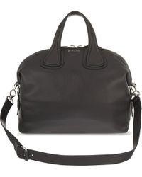 Givenchy - Black Nightingale Medium Leather Shoulder Bag - Lyst