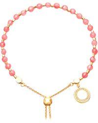 Astley Clarke - Black Rose 18ct Yellow-gold Vermeil And Sapphire Kula Bracelet - Lyst