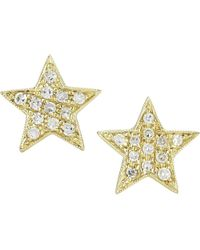 The Alkemistry - Metallic Dana Rebecca 14ct Yellow-gold Earrings - Lyst