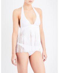 Missoni - White Fringed Bikini Set - Lyst