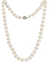 Annoushka - 18ct White-gold And Freshwater Pearl Necklace - Lyst