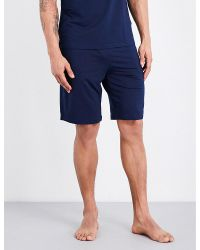 Polo Ralph Lauren | Blue Relaxed-fit Stretch-jersey Shorts for Men | Lyst