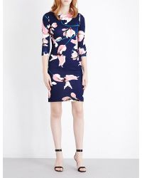 Erdem | Blue Reese Stretch-jersey Pencil Dress | Lyst