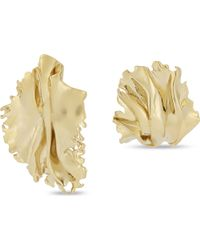 Annelise Michelson - Metallic Algae Sea Leaf Earrings - Lyst
