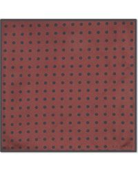 Lanvin | Red Degradé Spotted Silk Tie for Men | Lyst