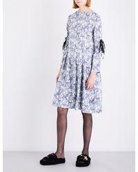 Shrimps - Multicolor Skye Silk-satin Dress - Lyst