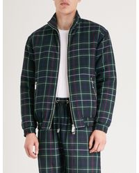 Blood Brother - Multicolor Check-pattern Lightly Padded Jacket for Men - Lyst