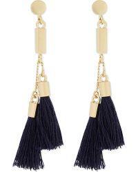 Chloé | Blue Tasseled Earrings | Lyst