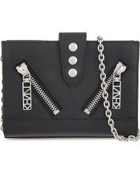 KENZO | Black Mini Kalifornia Chain Clutch | Lyst