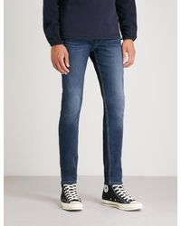PAIGE Blue Croft Skinny Jeans for men