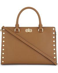 MICHAEL Michael Kors - Brown Michael Kors Ladies Glamour Sylvie Medium Leather Shoulder Bag - Lyst