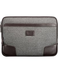 Tumi   Gray Large Coated Canvas Laptop Cover   Lyst