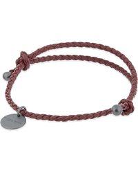 Bottega Veneta | Brown Intrecciato Bracelet | Lyst