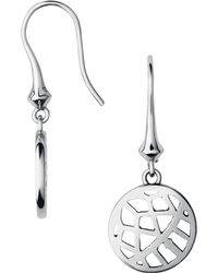 Links of London | Metallic Timeless Sterling Silver Drop Earrings | Lyst