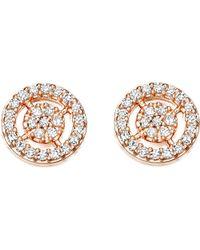 Astley Clarke - Pink Mini Icon Aura Stud Earrings - Lyst