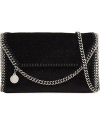 Stella McCartney - Black Falabella Curb-chain Cross-body Bag - Lyst