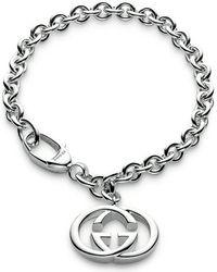 Gucci - Metallic Loose Link Bracelet - Lyst