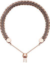 Astley Clarke | Metallic Kula Biography 18ct Rose-gold Thundercloud Woven Bracelet | Lyst