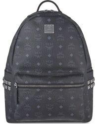 MCM - Black Stark Classic Medium Backpack - Lyst