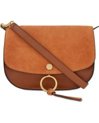 Chloé - Brown Kurtis Medium Leather Shoulder Bag - Lyst