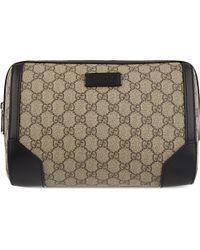 Gucci - Black Gg Supreme Washbag for Men - Lyst