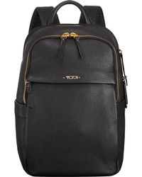 Tumi - Black Daniella Limited Edition Small Leather Backpack - Lyst