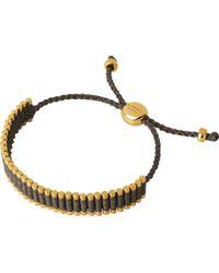 Links of London   Metallic 18ct Gold-plated Friendship Bracelet   Lyst
