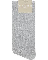 Falke | Gray No1 Pure Cashmere Socks | Lyst