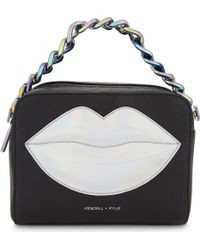 Kendall + Kylie - Black Lucy Lips Cross-body Bag - Lyst