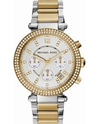 Michael Kors - Metallic Mk5626 Parker Gold-toned Stainless Steel Watch - Lyst