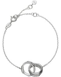 Links of London | Metallic 20-20 Interlocking Bracelet | Lyst