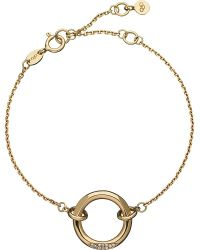 Links of London | Metallic 18ct Yellow-gold And Diamond 20-20 Solo Bracelet | Lyst