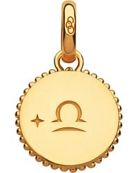 Links of London | Libra 18ct Yellow-gold Vermeil Zodiac Charm | Lyst