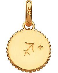 Links of London - Sagittarius 18ct Yellow-gold Zodiac Charm - Lyst