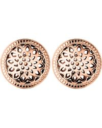 Links of London | Metallic Timeless 18ct Rose-gold Vermeil Stud Earrings | Lyst