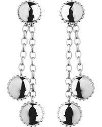 Links of London | Metallic Amulet Sterling Silver Drop Earrings | Lyst
