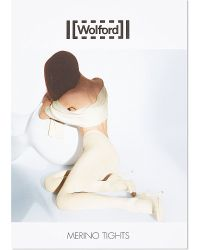 Wolford | Black Merino Wool Tights | Lyst