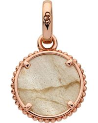 Links of London - Metallic Amulet 18ct Rose Rose Gold Vermeil Self Discovery Charm - Lyst