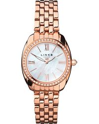 Links of London | Metallic 6010.1311 Bloomsbury Rose Gold-plated Watch | Lyst