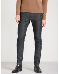 The Kooples - Blue Slim-fit Stretch-denim Jeans for Men - Lyst